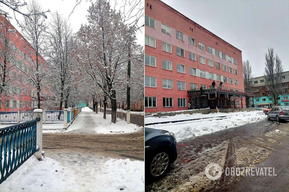 Заснеженные улицы Шостки