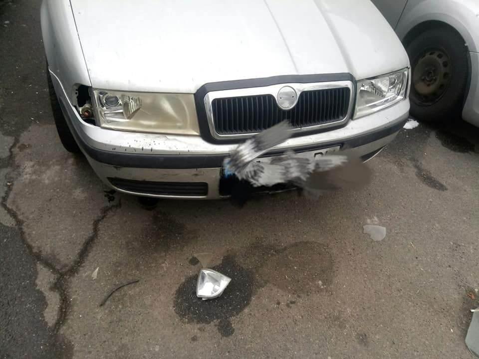 За словами свідка, авто було припарковано в спеціально відведеному для цього місці