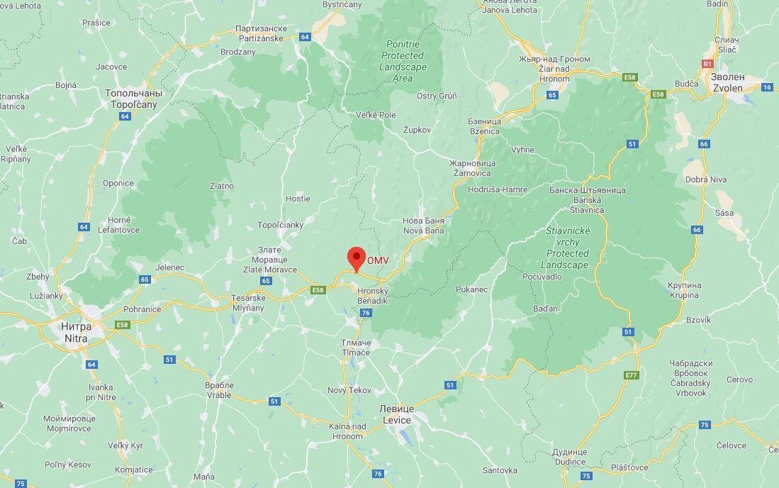 ДТП сталася біля заправки Тековське Нємце