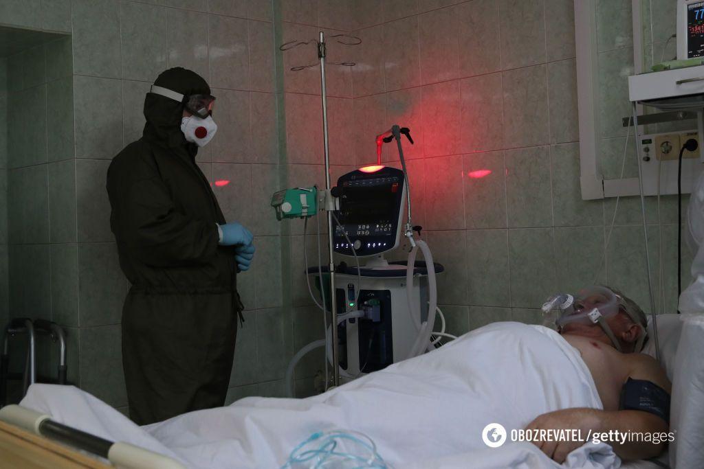 В Івано-Франківську закінчуються місця в лікарнях