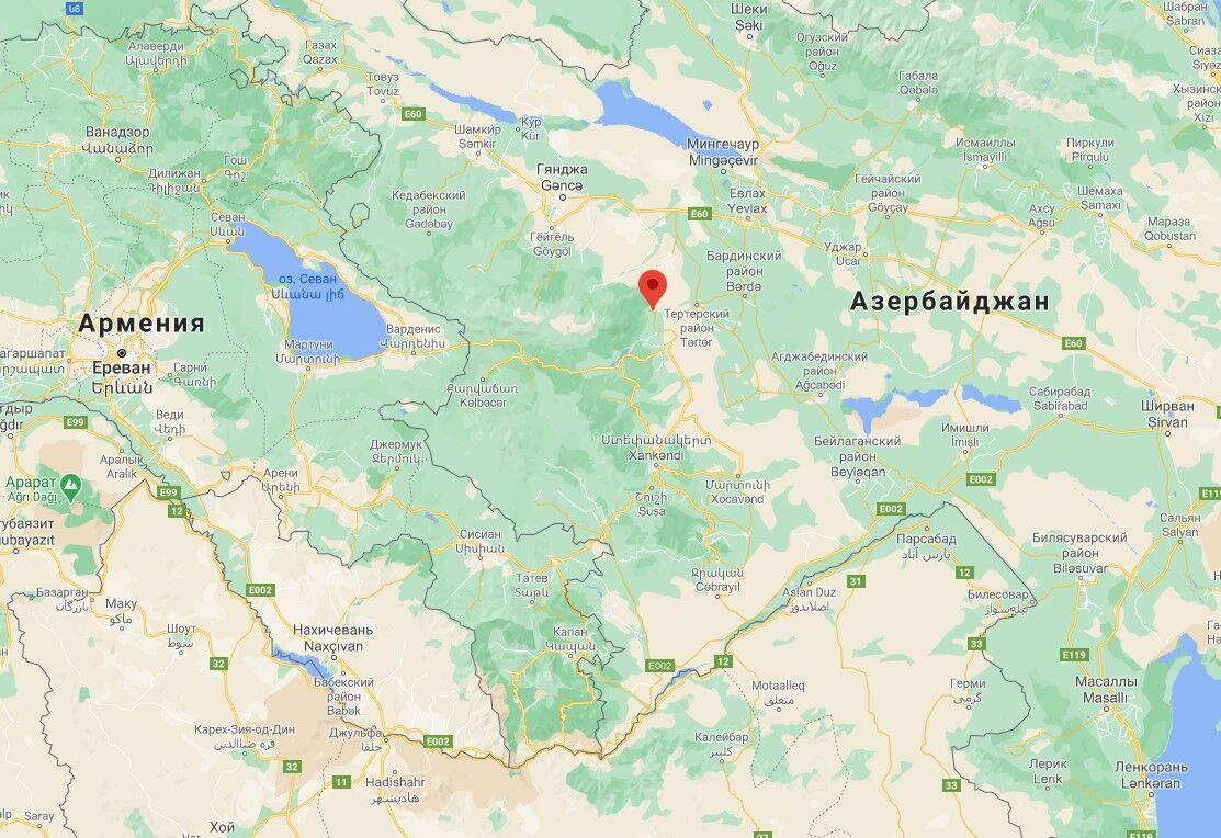 Інцидент стався в районі села Суговушан