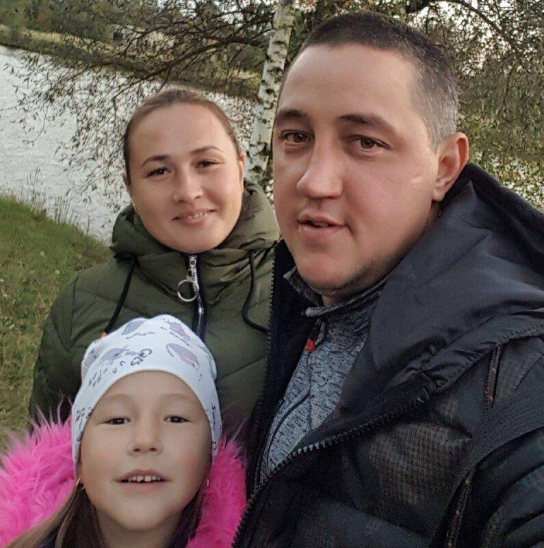 Тимур зі своєю сім'єю