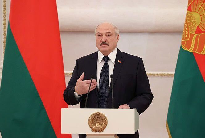 Лукашенко во время церемонии вручения верительных грамот, 24 ноября 2020 года