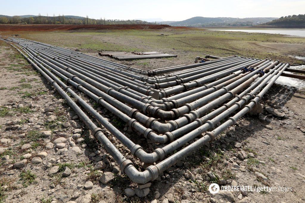 НС с водой в Крыму
