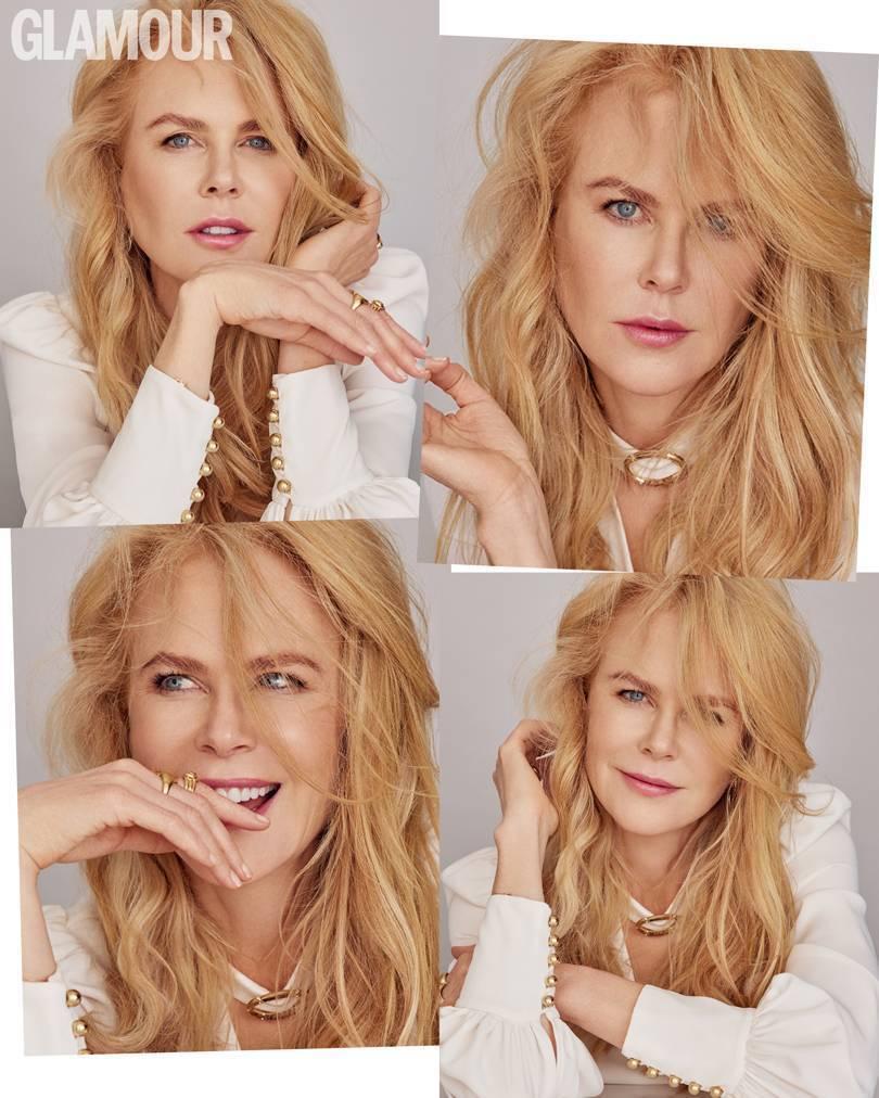 Николь Кидман снялась для новой обложки журнала Glamour