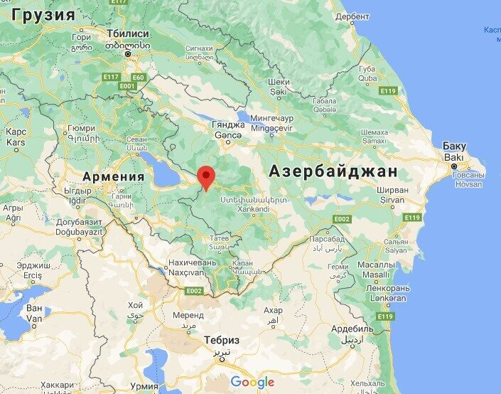 Воинская часть расположена в Кельбаджарском районе.