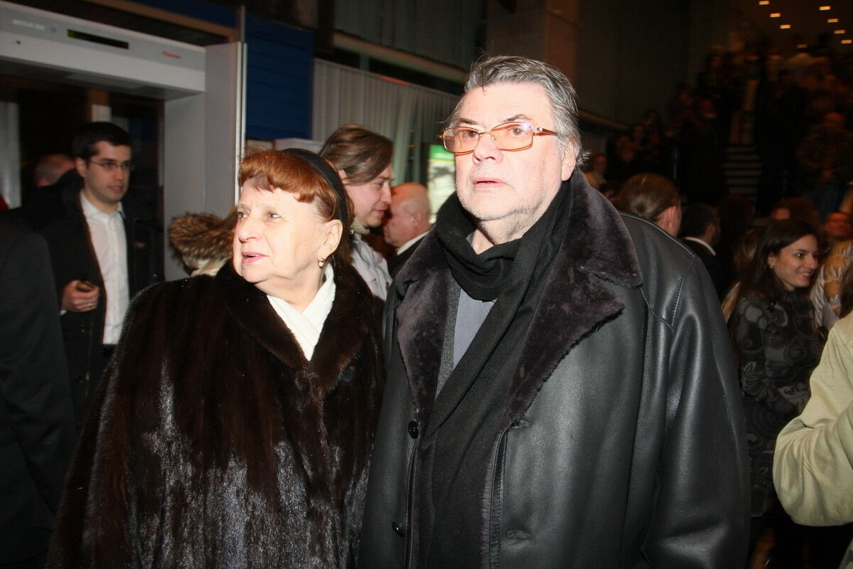 Олександр Ширвіндт із дружиною Наталією