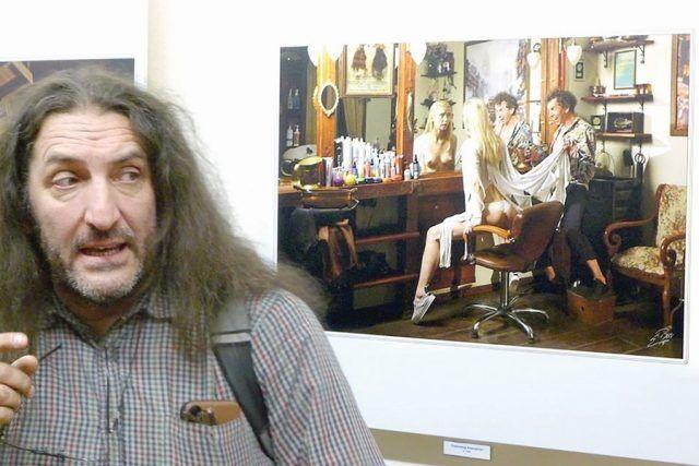 Ктиторчук на выставке