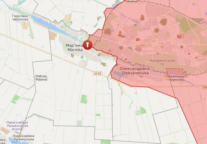 Цивільні постраждали в Олександрівці.