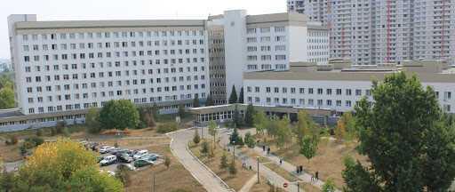 Киевская больница №8, где произошло самоубийство.