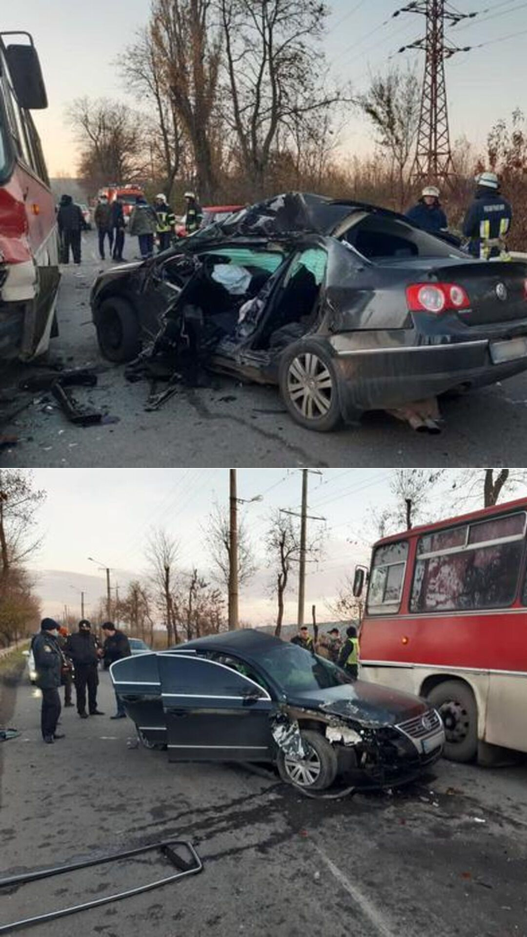 "Volkswagen Passat на швидкості врізався у ""ВАЗ 2106"""