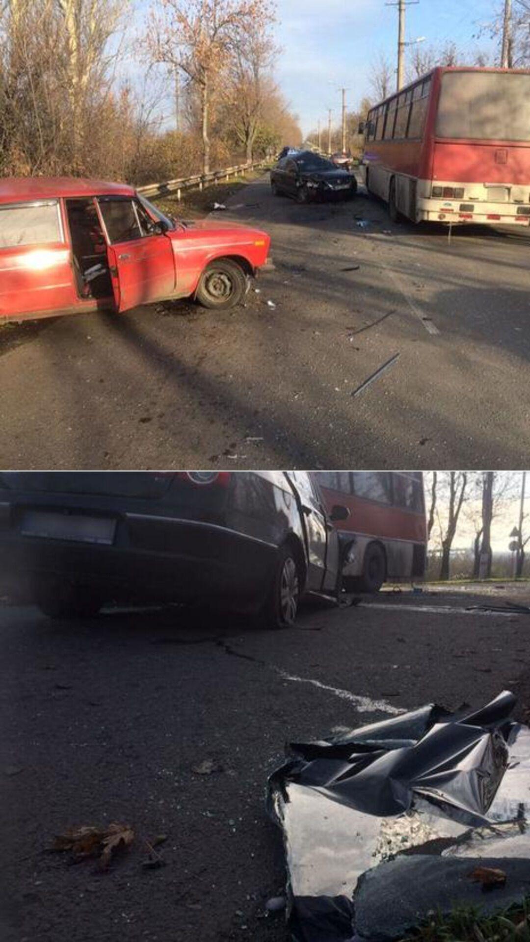 У ДТП загинув пасажир Volkswagen