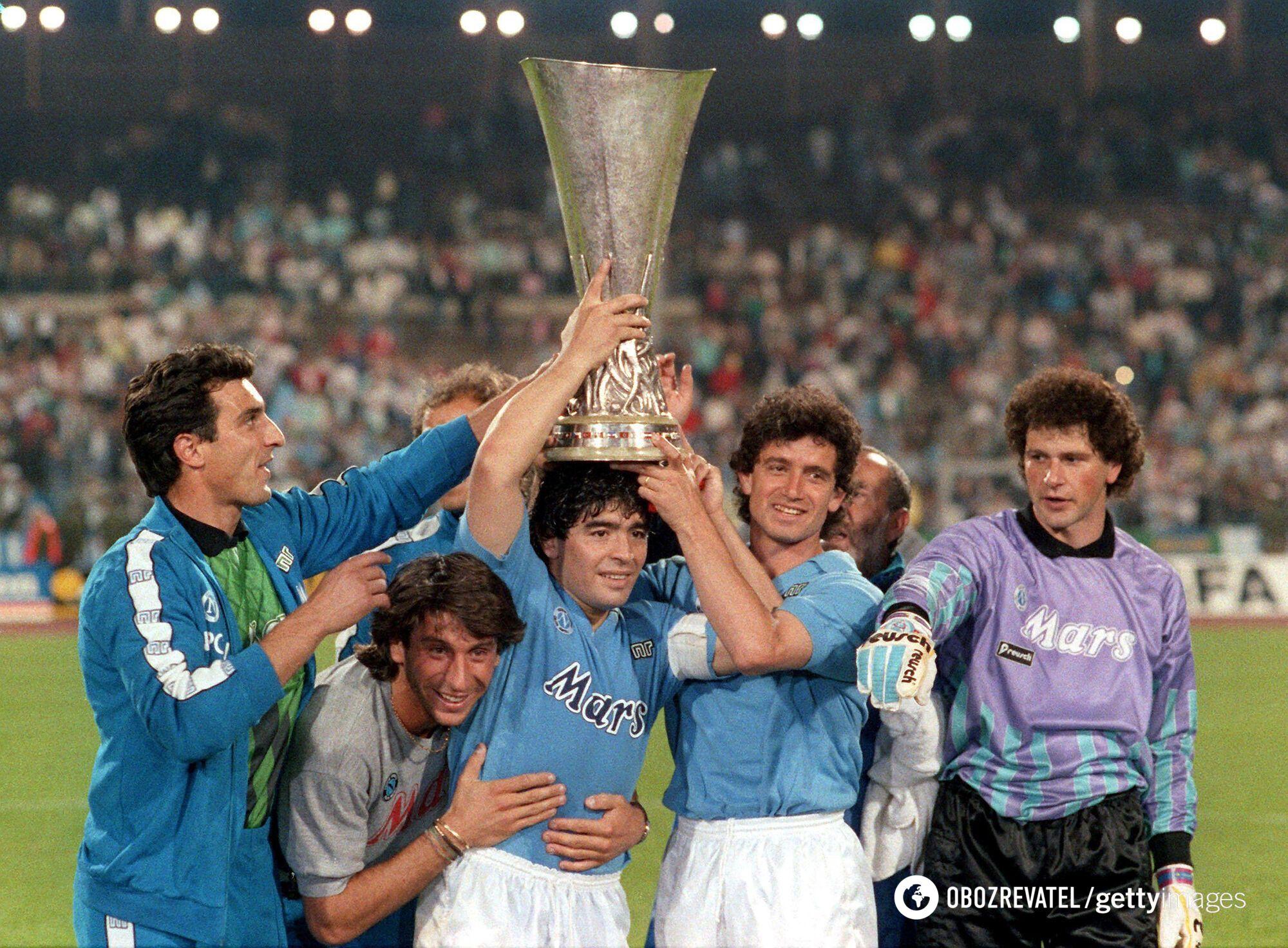 Диего Марадона (1989 год)