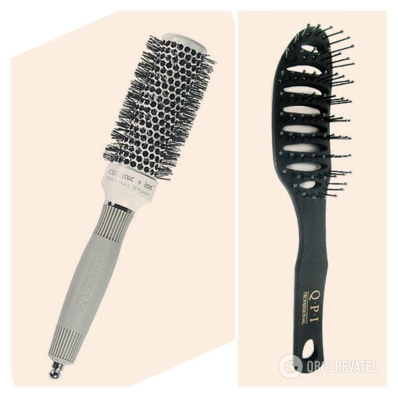 Расческа браш / расческа для сушки волос