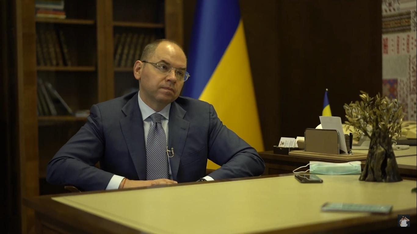 Максим Степанов на интервью