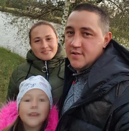 Тимур со своей семьей