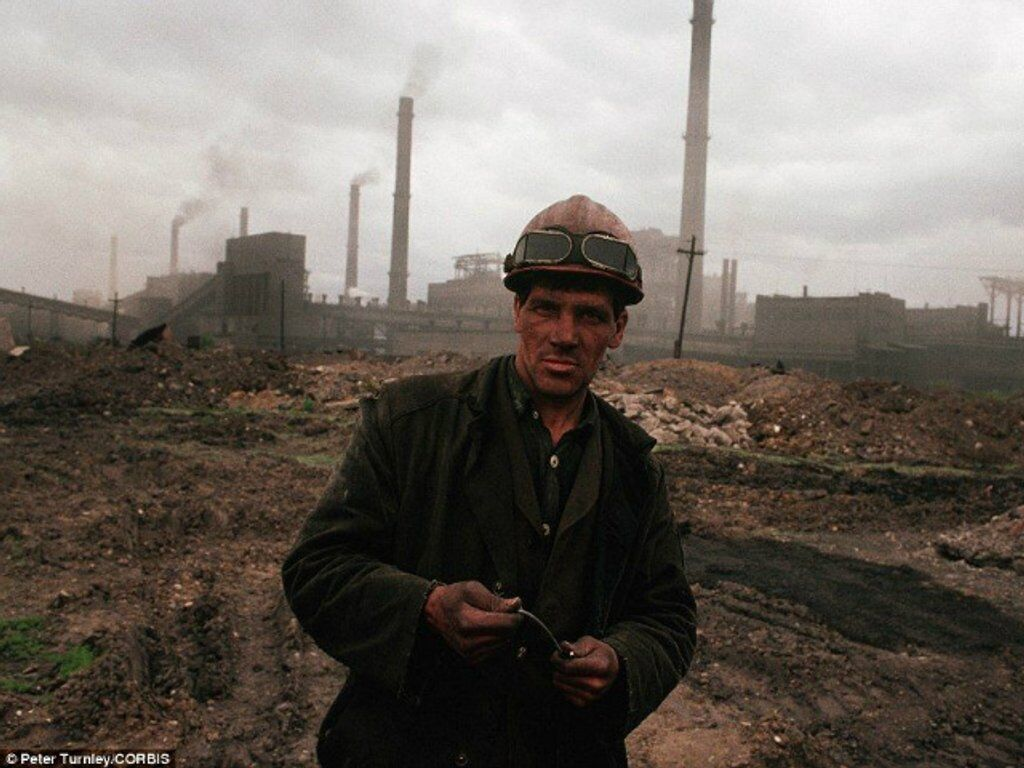 Шахтер, Сибирь, 1991 год