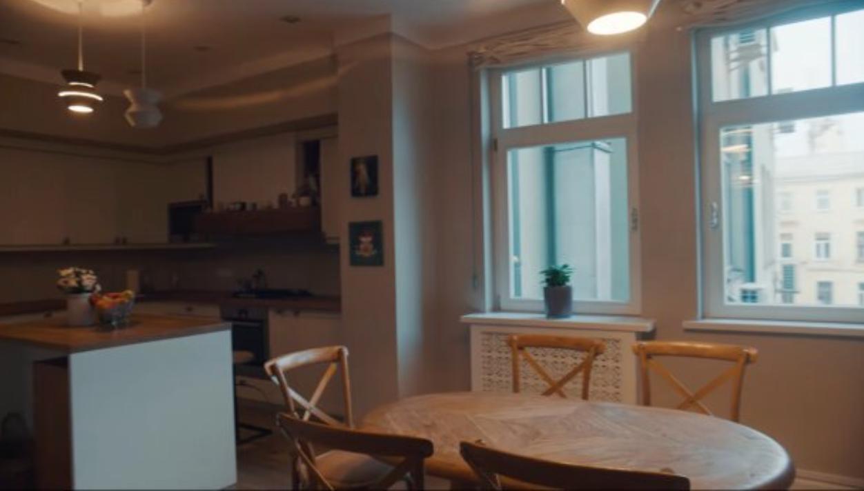 Кухня в квартире Ольги Фреймут