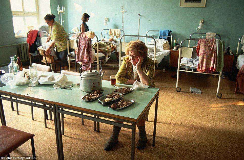 Больница, Москва, июль 1991 года