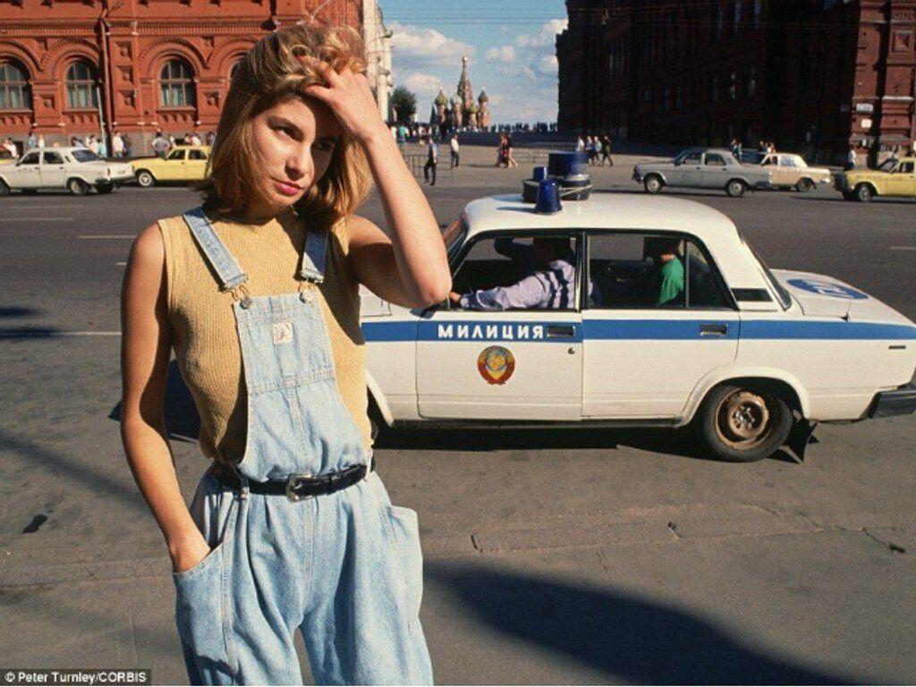 Проститутка Катя, Москва, 1991 год