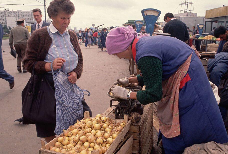 Уличная торговля в СССР
