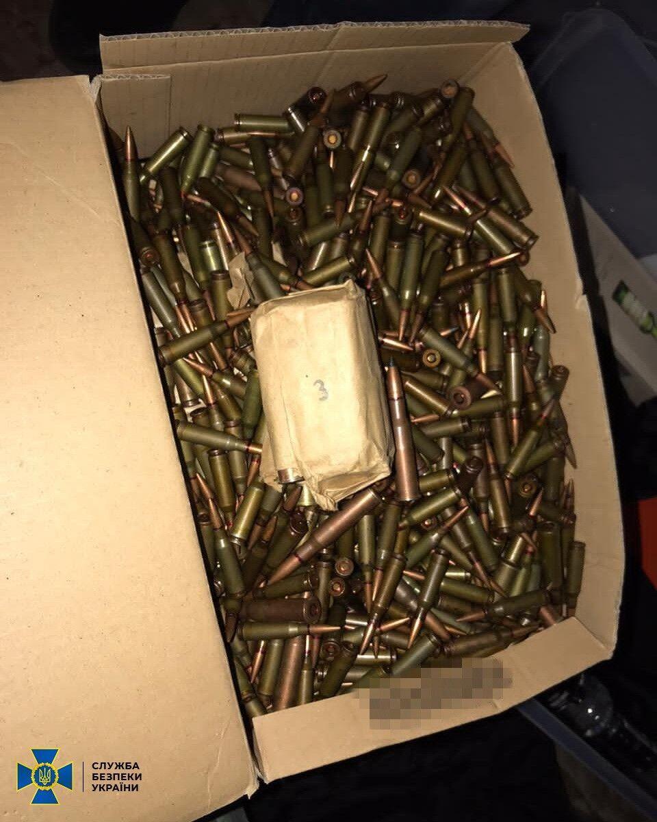Патроны хранились в ящике