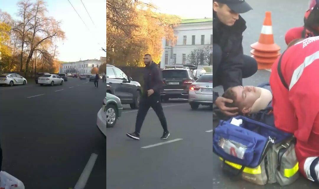 Моменти ДТП, в якій Саєнко збила на авто 15-річного Артема Левченка в Полтаві