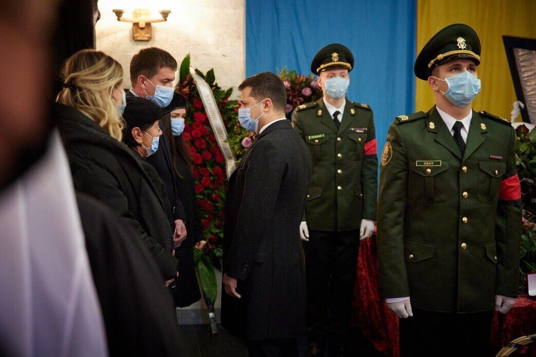 Также президент выразил соболезнования родным Дегтярева