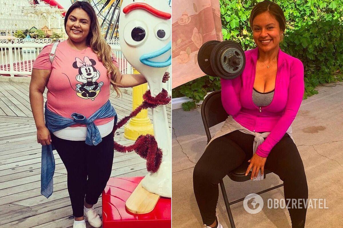 Натали Варгас раскрыла секрет похудения