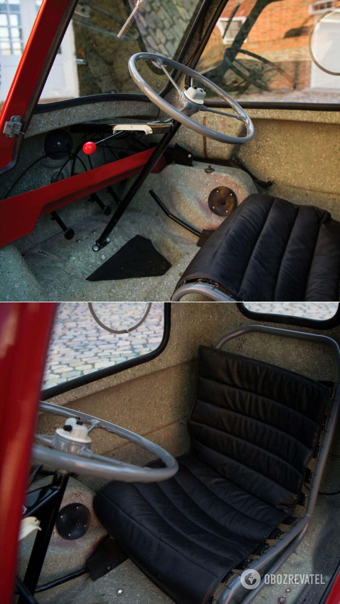 У Peel P50 – 49-кубовий двотактний двигун від мопеда з потужністю 4,2 к. с.