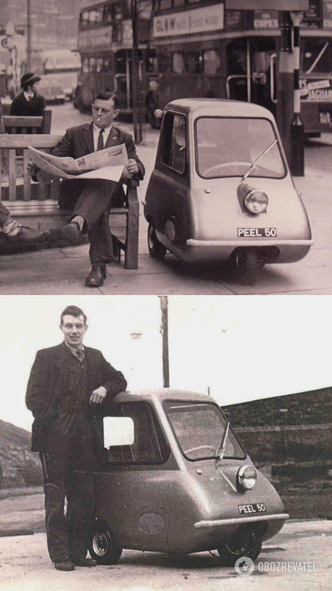 Peel P50 занесен в книгу рекордов Гиннеса, как самое маленькое серийное авто