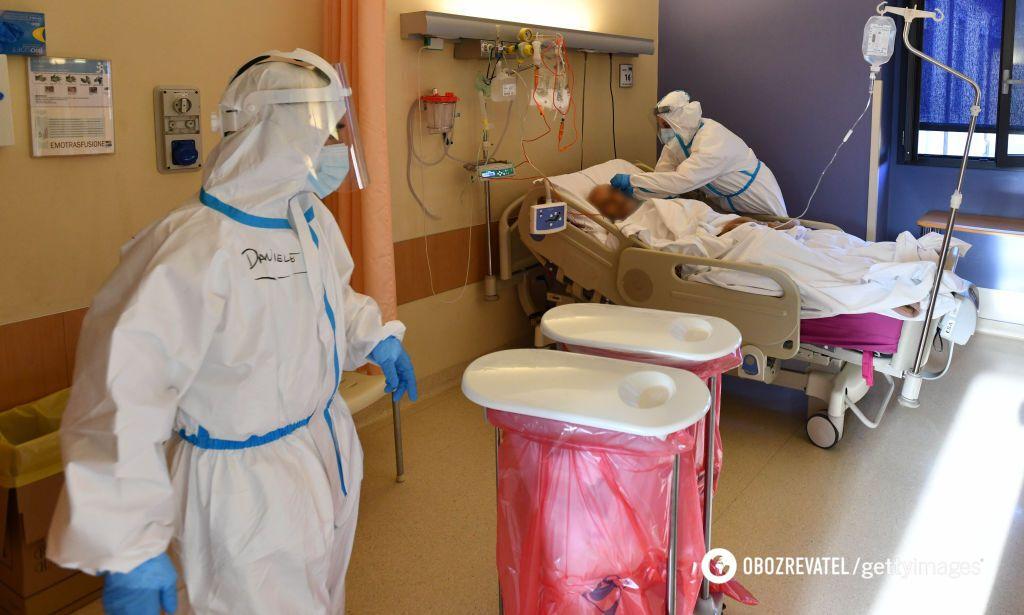 Жінка дивом опинилася в лікарні