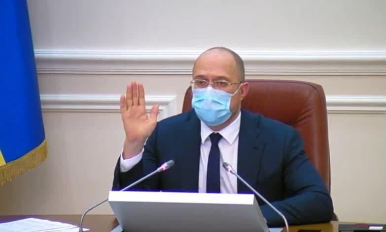 Денис Шмигаль на голосуванні