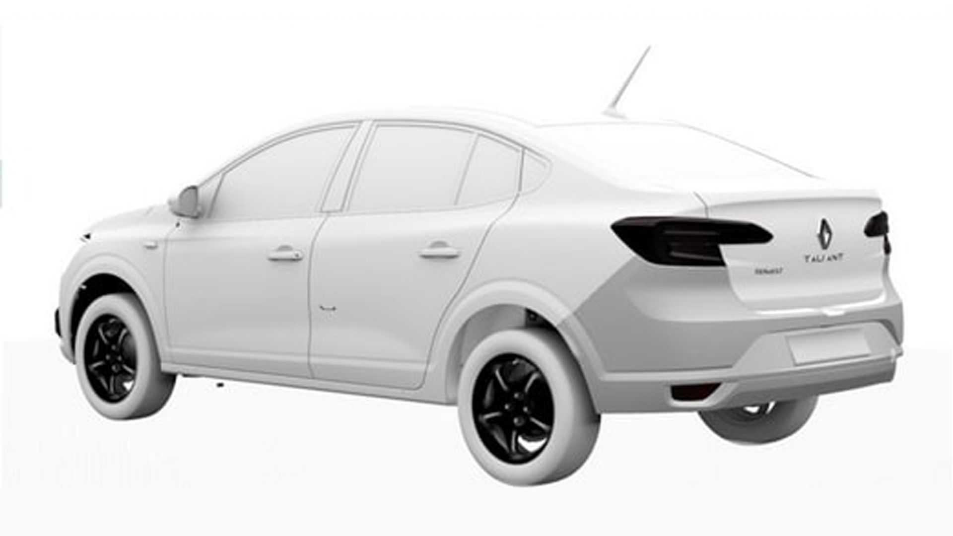 Зовнішній вигляд Renault Logan +2021