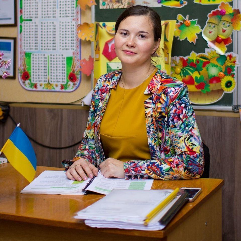 Марія працювала в школі вчителькою