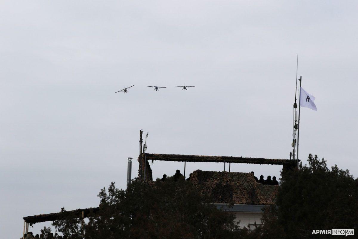 Активное участие в учениях принимала авиация Воздушных сил