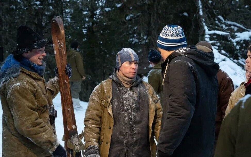 """Костромикін у ролі Юдіна в серіалі """"Перевал Дятлова""""."""