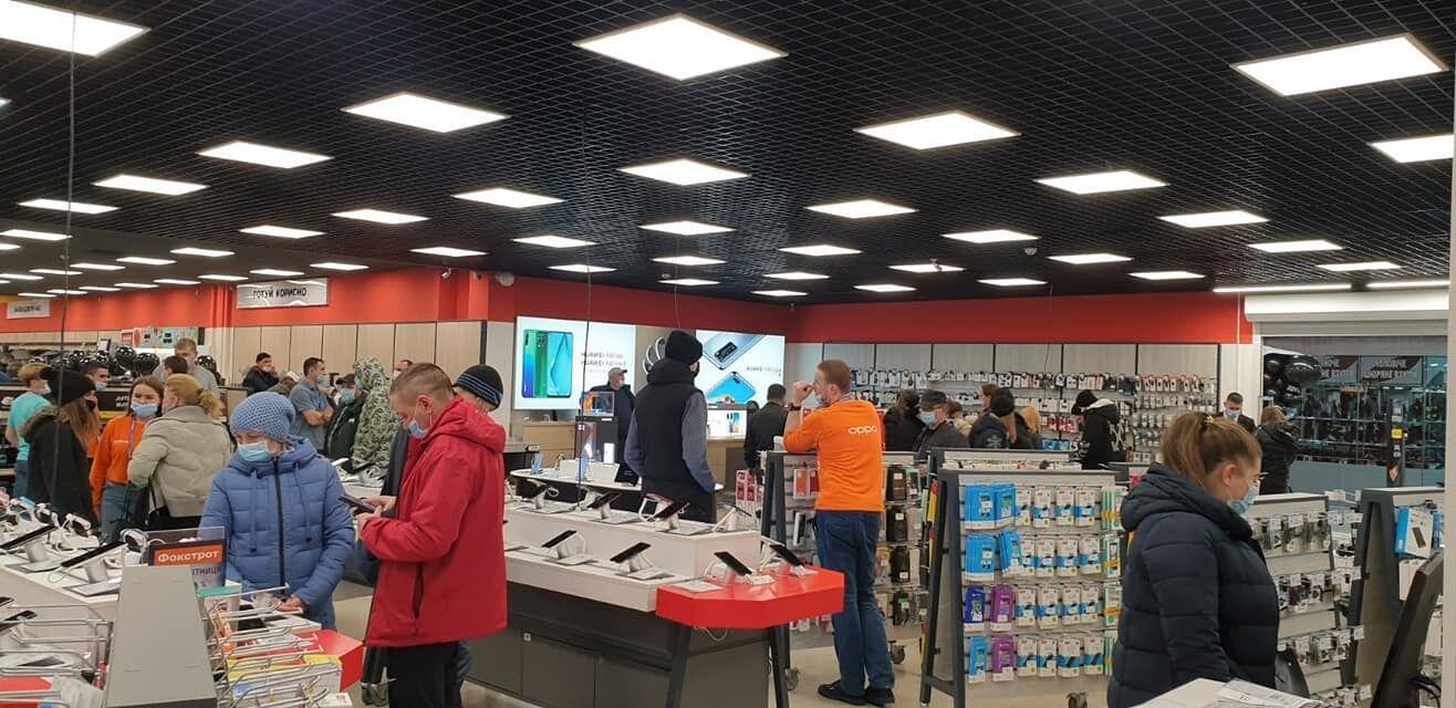 Покупателей в магазине больше, чем предусмотрено карантинными ограничениями