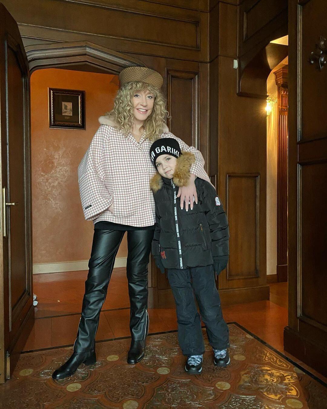 Алла Пугачева и ее сын Гарри.