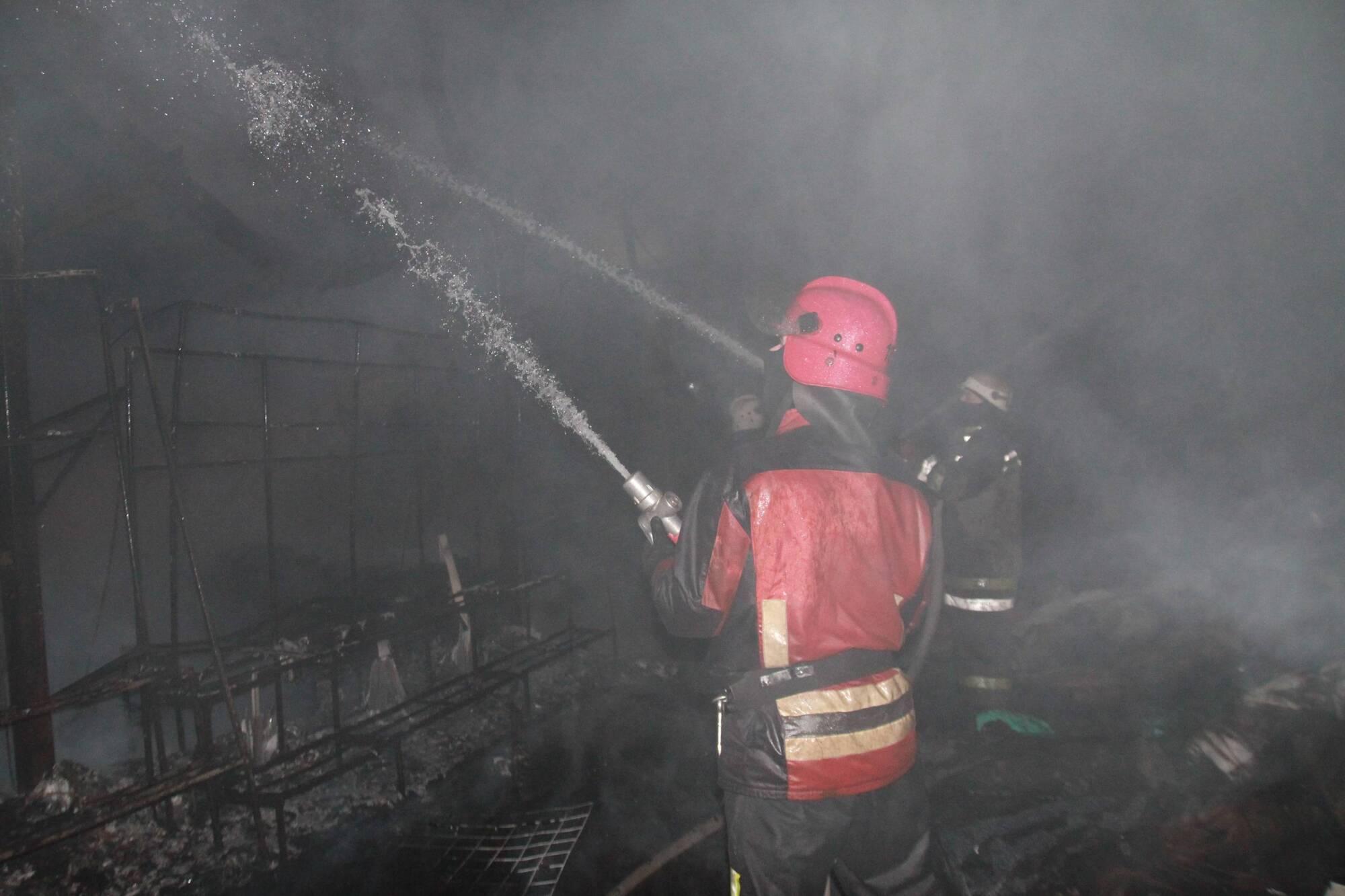 Рівень складності пожежі було підвищено до 4-го
