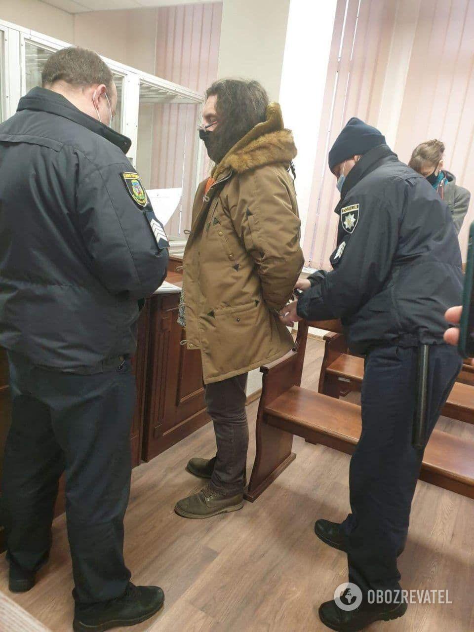 Фотографа Ктитарчука відправили під варту.
