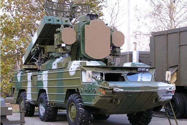 """Зенитно-ракетные комплексы """"Оса-АКМ"""""""