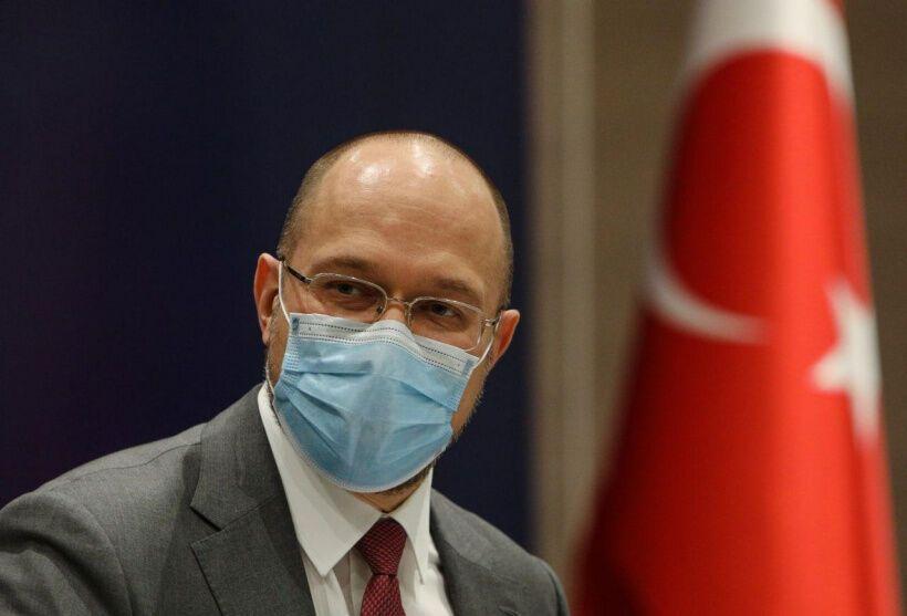 Шмыгаль на встрече в Стамбуле