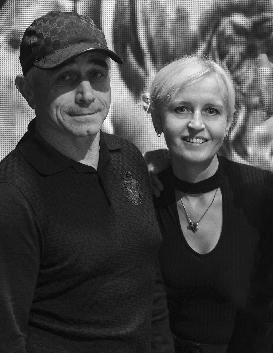 Экс-чемпионка с Анатолием Ломаченко.