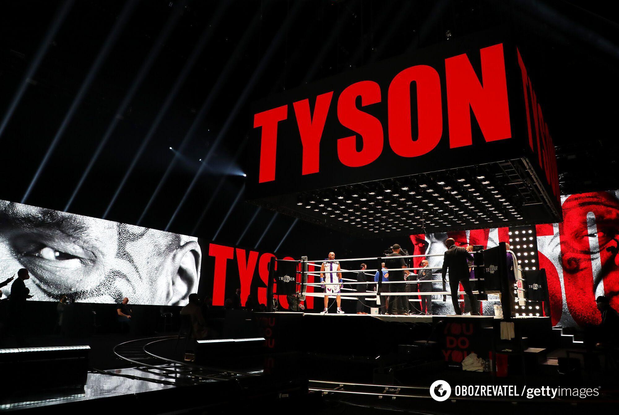 Майк Тайсон не бився з 2005 року.