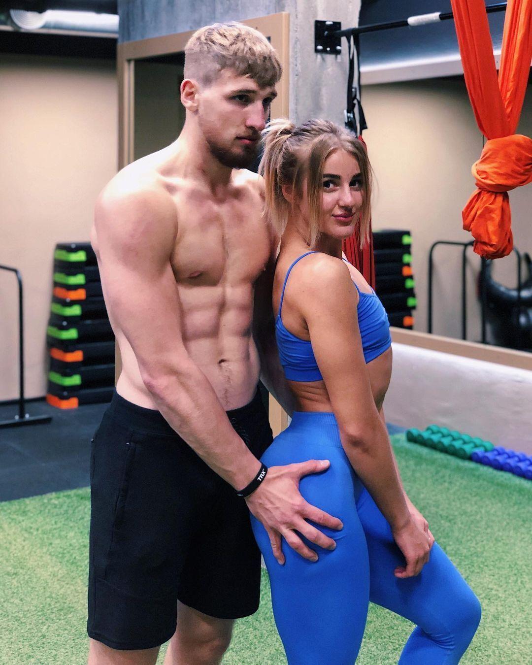 Виктория Савоник и Юрий Кондраков