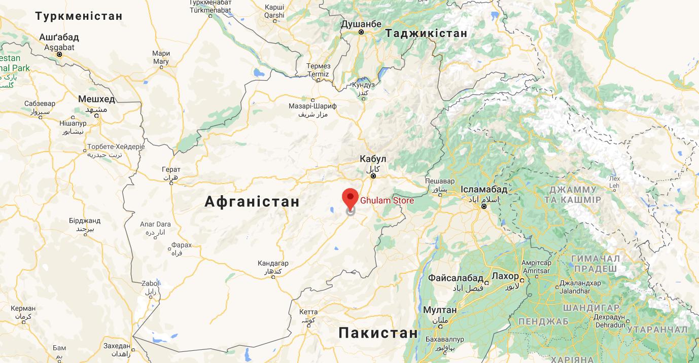 Теракт відбувся в провінції Газні
