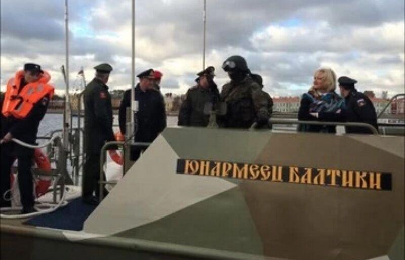 """Судно ВМФ """"Юнармієць Балтики"""""""