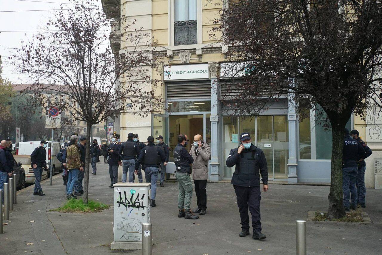 Грабіжники напали на відділення Credit Agricole в Мілані