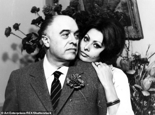 Софи Лорен прожила более 40 лет с Карло Понти